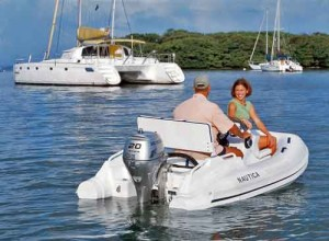 tender Nautica with Honda 20 hp image
