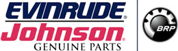 image of Evinrude Johnson outboards logo