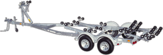 photo of EZ Load trailer
